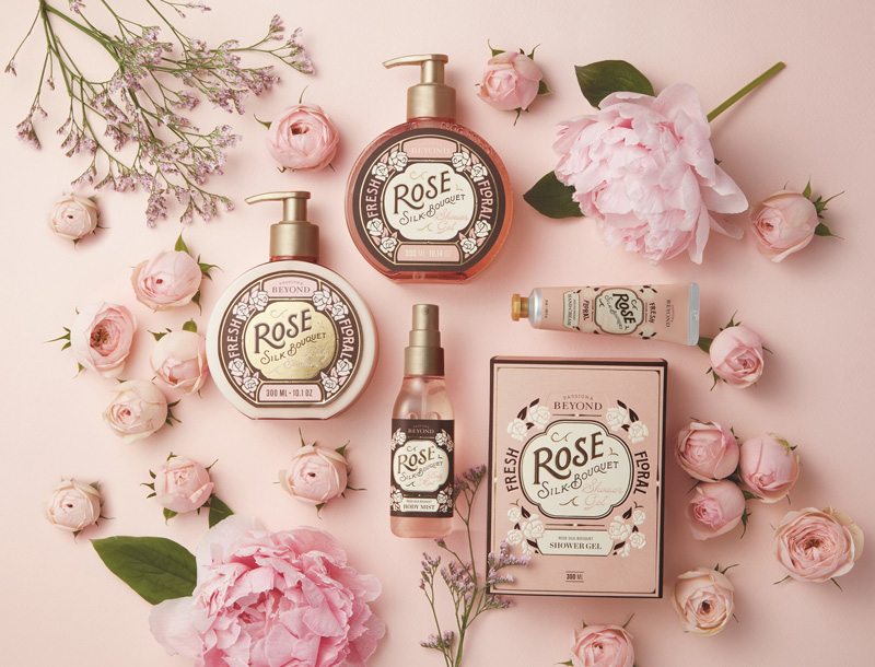 The Face Shop Rose Silk Bouquet Collection - Rose your Way to Fragrant Skin with the Face Shop's all New Rose Silk Bouquet Line