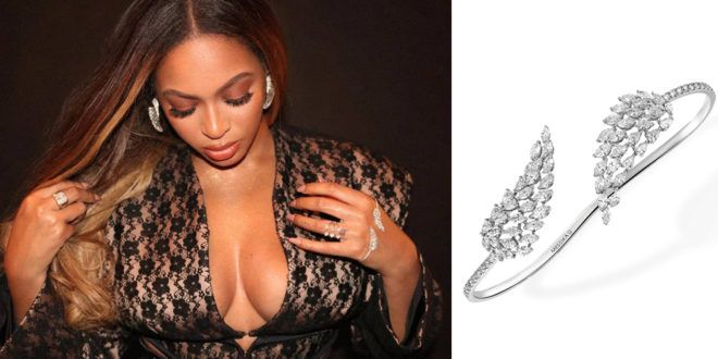 BEYONCÉ WEARS MESSIKA'S ANGEL BRACELET