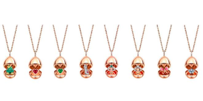 Rose Gold Egg Pendants for the Festive Season