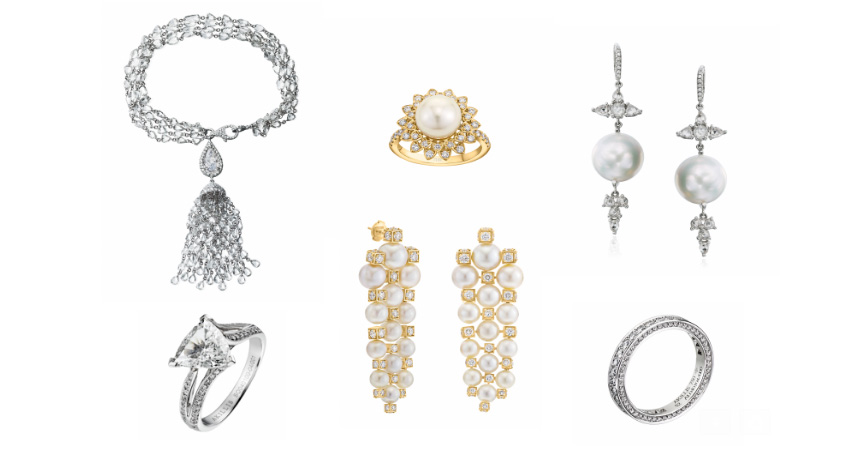 Make Your Bridal Moment Unforgettable with Sparkling Diamonds and Lustrous Pearls